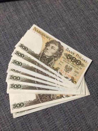 Banknot kolekcjonerski 500 zł