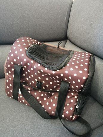 Mała torba do transportu psa/kota