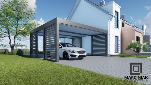 Carport wiata garażowa nowoczesna zadaszenie Cala PL