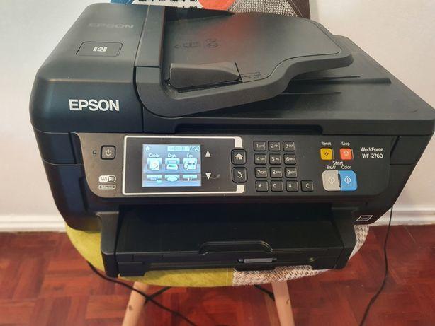 Epson  WF2670 + tinteiro azul