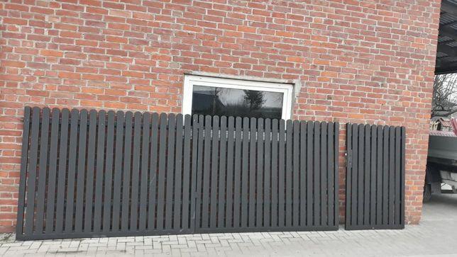 Brama wjazdowa skrzydłowa