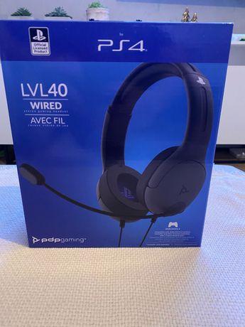 PlayStation 4 Zestaw (Słuchawki oraz Ładowarka)