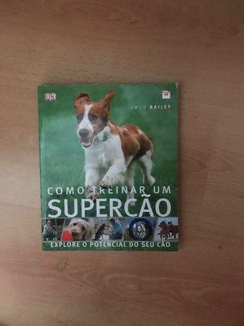 Super cão livro de treinos