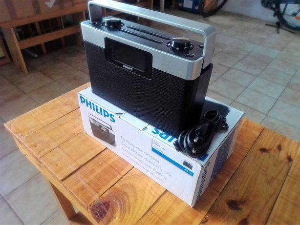 Radio Philips Digital com 20 memórias