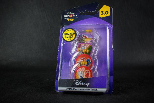 Disney Infinity Zwierzogród, Zootopia 4 Dyski Mocy