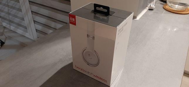 Apple Beats Solo 3 Wireless Satin Silver (słuchawki bezprzewodowe)