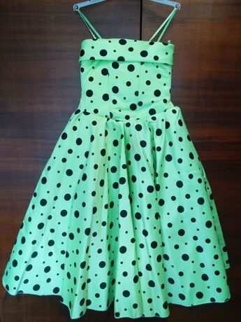 Нарядное пышное платье
