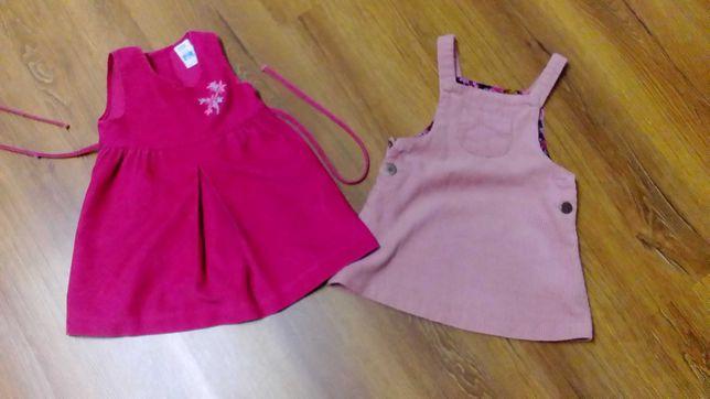 Sukienki dla dziewczynki 90-98