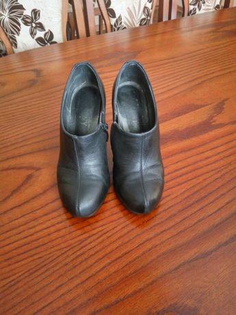 Шкіряні Кожание Туфли туфлі ботинки черевики