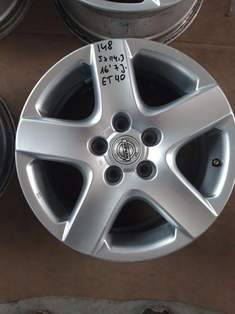 148 Felgi Aluminiowe NISSAN 5x114.3 Qashqai X TRAIL JUKE