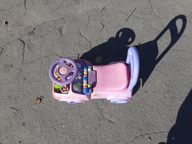Машинка детская  толкатор