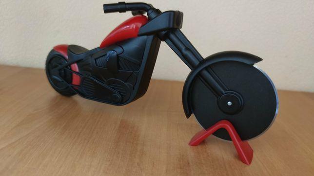 Нож для пиццы мотоцикл (Красный)