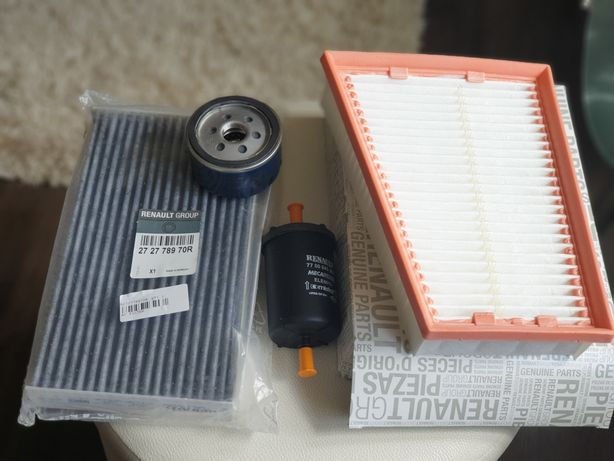 Zestaw filtrów samochodowych Reanult