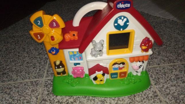 Casa atividades Chicco eletrônico