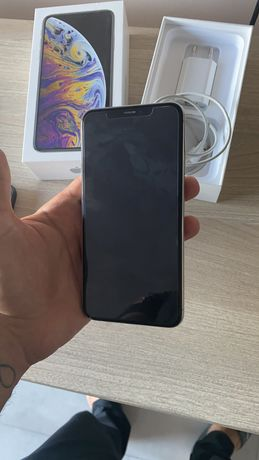 iPhone XS max 64gb bialy silver