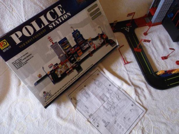 Policja - mobilna stacja