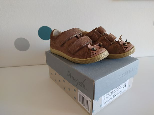 Buty skórzane Mrugała 24
