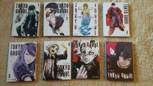 Mangi: Ao no Exorcist, Tokyo Ghoul i inne