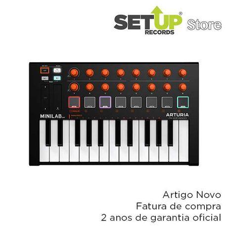 Arturia Minilab MKII Orange Edition - NOVO