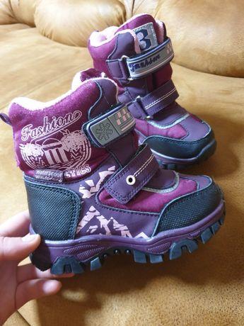Взуття. Сапоги зимові