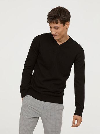 Хлопковый джемпер (кофта, свитер) H&M. Новый L