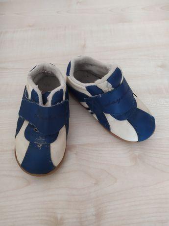 Кожаные кроссовки для двора 23 размер