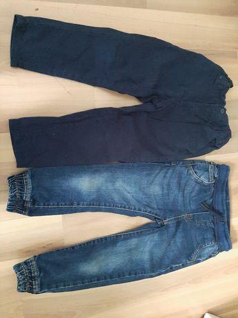 Spodnie 2pary rozm 104