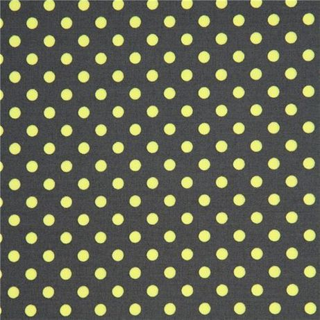 0,85mb Tkanina bawełniana kropki neon Michael Miller