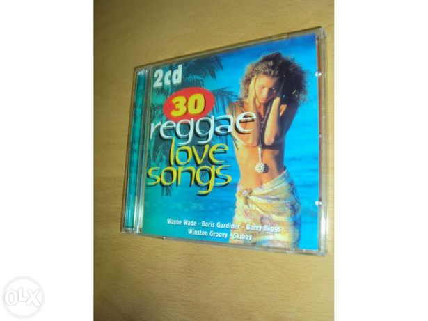 Reggae love songs - 2 Cds - novos!