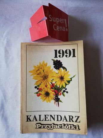 """książka """"kalendarz przyjaciółki"""""""