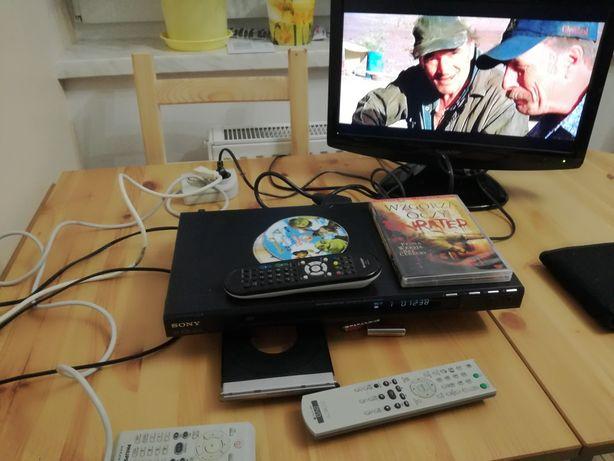 Odtwarzacz DVD Sony i Philips.