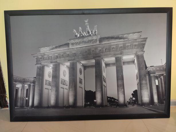 Ikea duży obraz Brama Brandenburska dekoracja ścienna