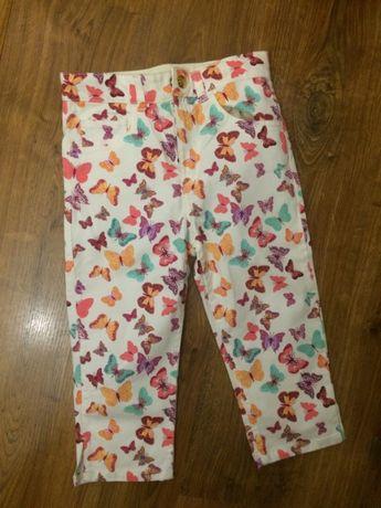Spodnie H&M 128 cm wyprzedaż szafy tanio