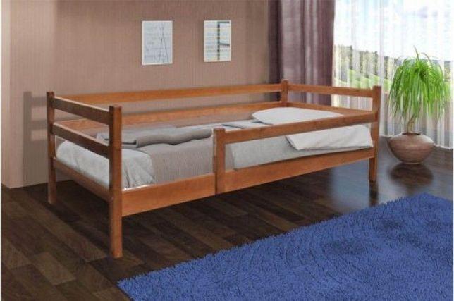 Детская Деревянная Кровать Соня с Ограждением Недорого!