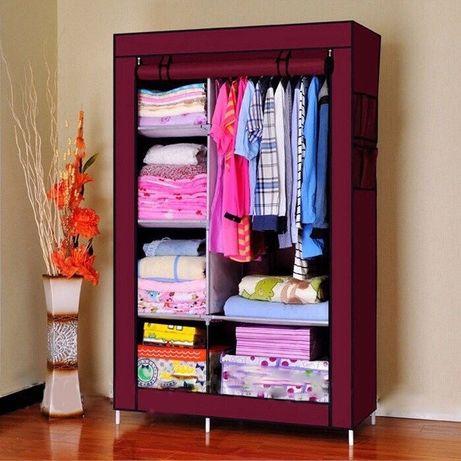 Тканевый шкаф для одежды, Storage Wardrobe 88105, складной, гардероб