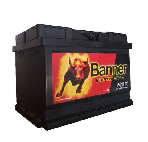 Akumulator Banner Starting Bull 55Ah 450A P+