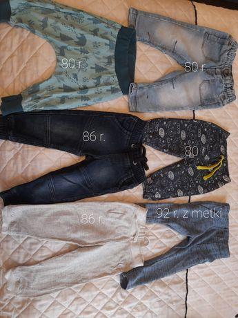 Spodnie chłopięce 80-92