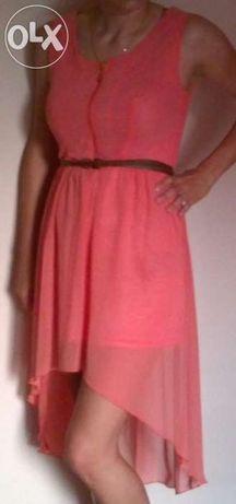 sukienka różowa rozmiar M 38