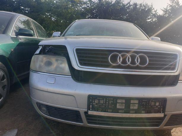 Audi a6c5 sedan zderzak przedni LY7W