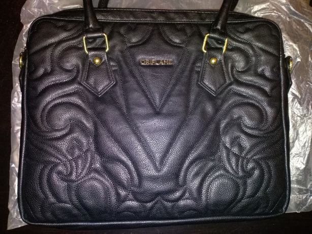 torebka nowa Oriflame Elegant Business A4 duża do ręki na ramię czarna