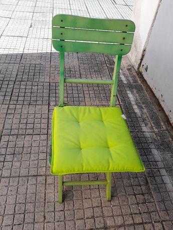 Cadeiras de exterior 2 duas