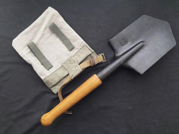 Саперная лопата + чехол. Малая пехотная лопатка + подсумок Военная МПЛ