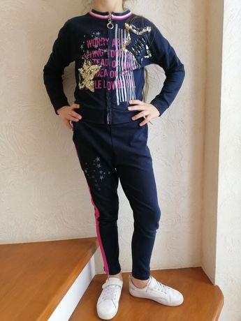 Стильний Спортивний костюм для дівчинки ріст 116 122 128 6-8 років