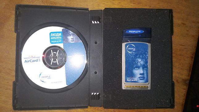 3G PCMCIA карта Sierra AirCard 580 PEOPLEnet + ПОДАРУНОК