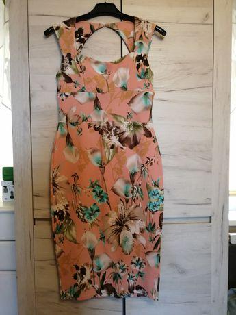 Sukienka kwiaty BooHoo