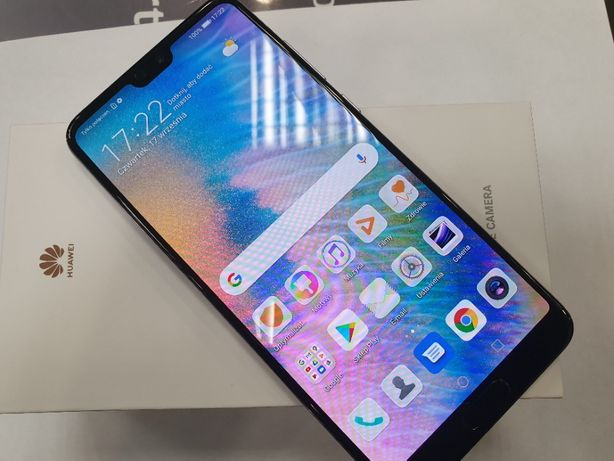 Huawei P20 PRO 128GB Dual SIM/ Twilight/ Stan BDB+/ Gwarancja/ sklep