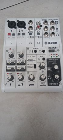 Konsola Yamaha AG 06 biała nowa