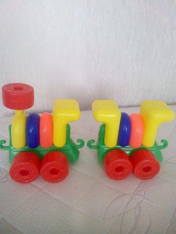 паровозики конструктор