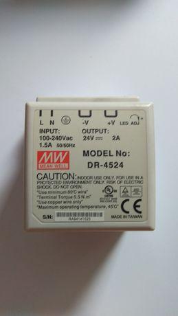 Zasilacz 24V MW DR-4524