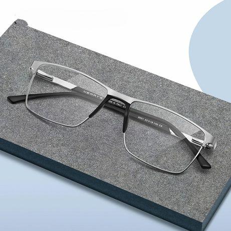 Eleganckie uniwersalne oprawki okulary zerówki +etui ze szmatką gratis